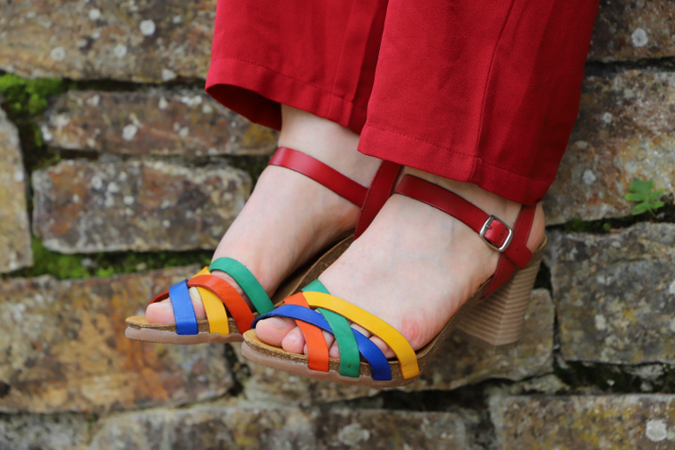 sandales leclerc