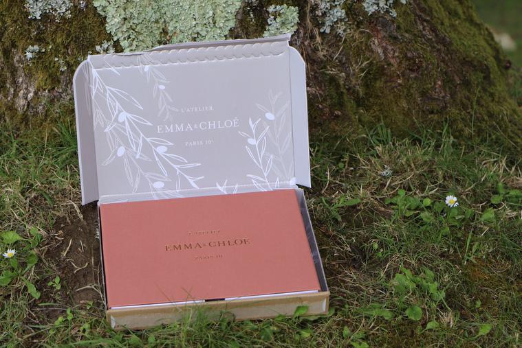 emballage box emma et chloé juillet 2020
