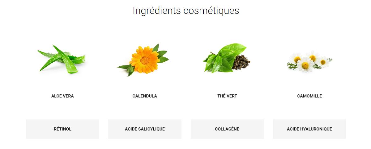 ingrédient cosmétique