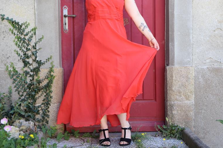 jupe de la robe