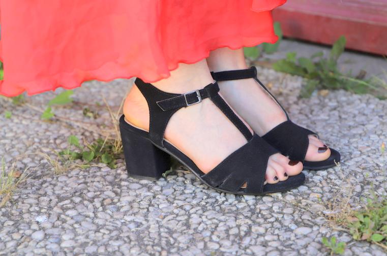 sandales bleu bonheur Cérémonie d'été