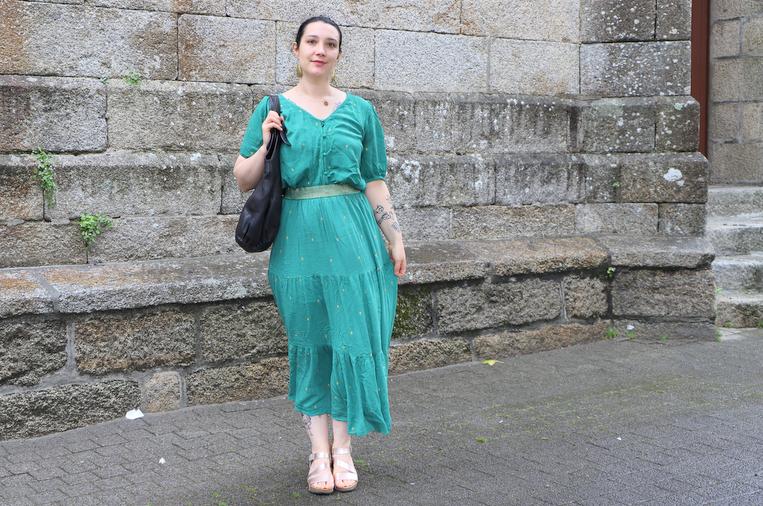 tenue vert blancheporte