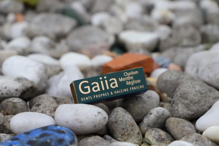 dentifrice Gaiia huiles essentielles