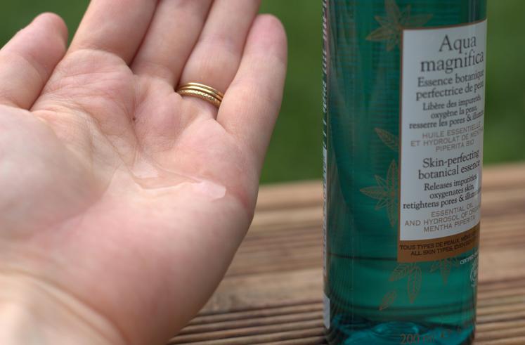 texture aqua magnifica sanoflore