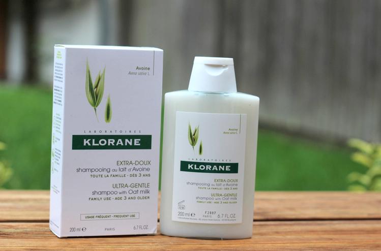 hydratation avec Klorane