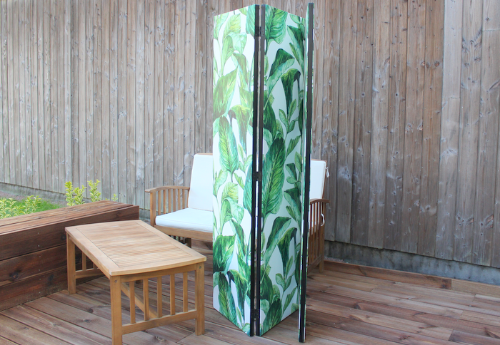 bimago paravent vert tropical
