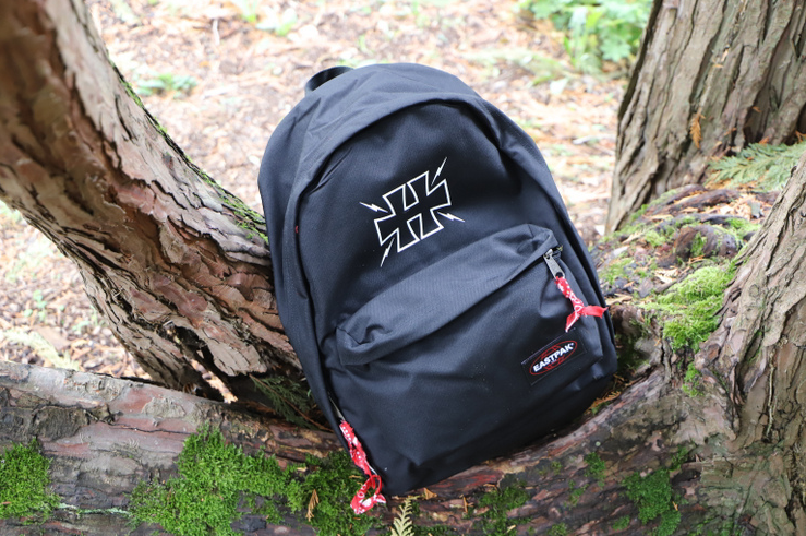 greetings from hell collaboration eastpak