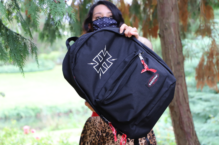 sac eastpak x greetings from hell