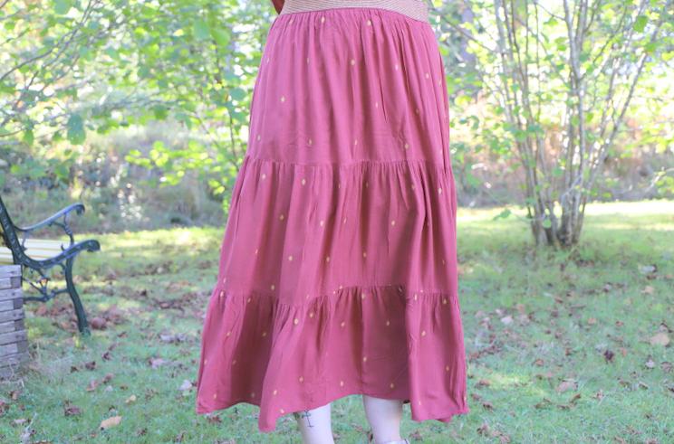 jupe bucolique