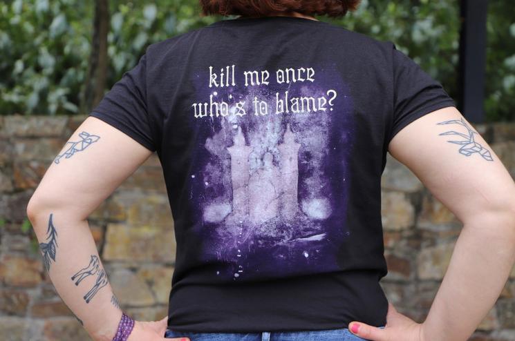 t shirt COB de dos Kill me once t shirt de groupe