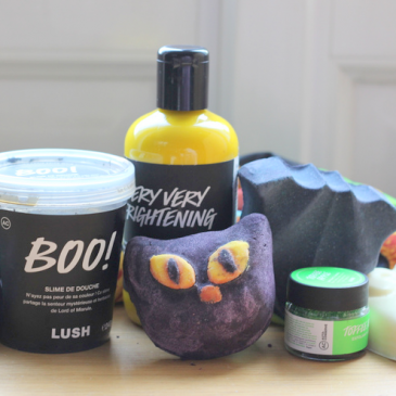 La collection Lush Halloween Test et avis