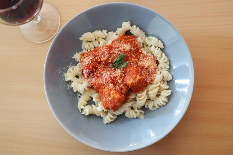 pasta day pesto rosso et tofu