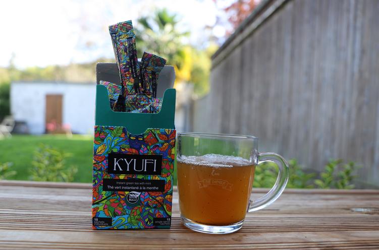 kyufi thé vert instantané