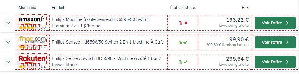 leDéincheur où acheter sa machine à café