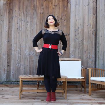 Look : La petite robe noire de fêtes