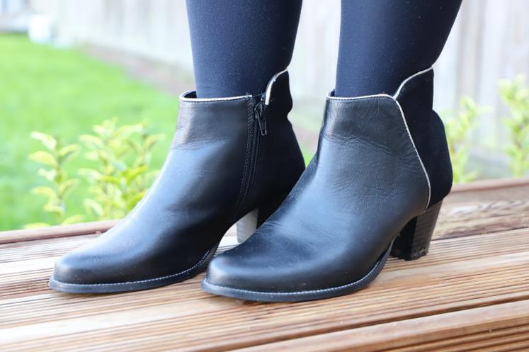 boots bleu bonheur