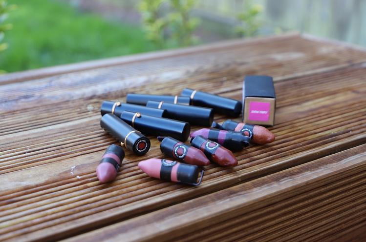 les rouges à lèvres Lush