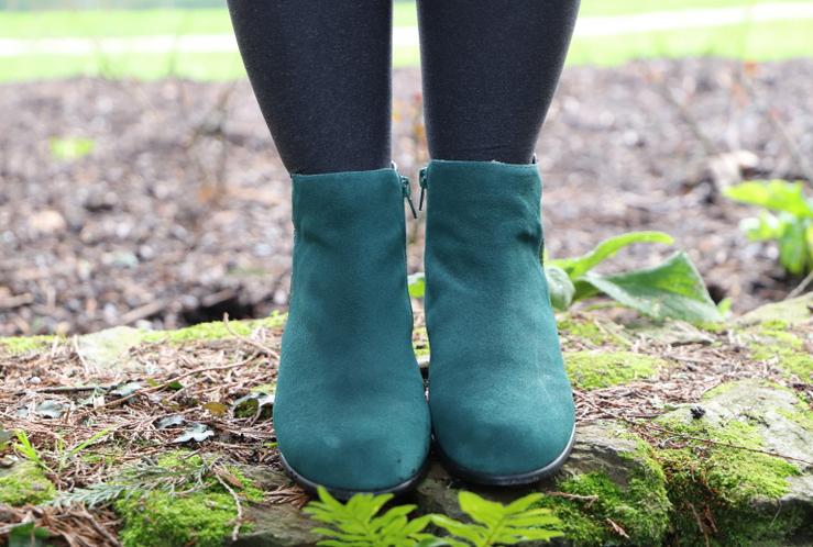 boots vertes Dorothy