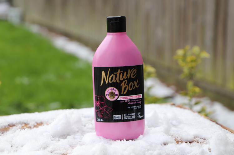 après shampoing Nature box