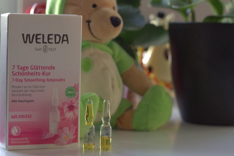ampoules huile de beauté Weleda