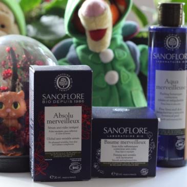 Trois soins Merveilleux certifiés Bio par Sanoflore