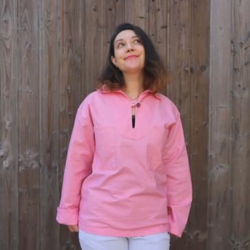 Look : la vareuse bretonne en coton bio