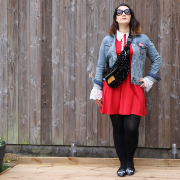 Look : la petite robe rouge