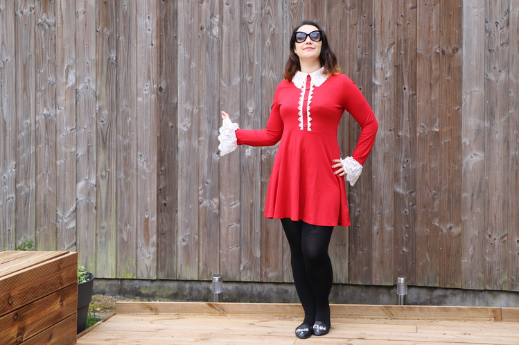 la petite robe rouge killstar