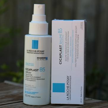 Baume Cicaplast et le spray B5 Apaisant – La Roche Posay
