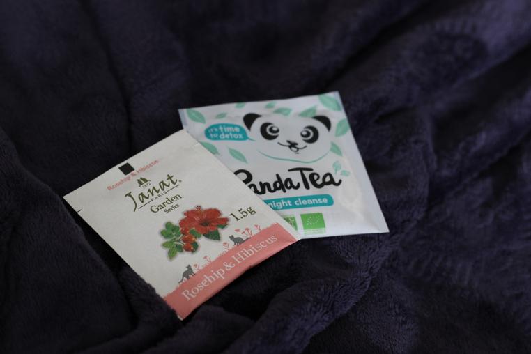 thés dans box littéraire