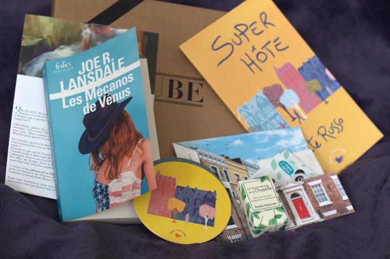 la kube box littéraire