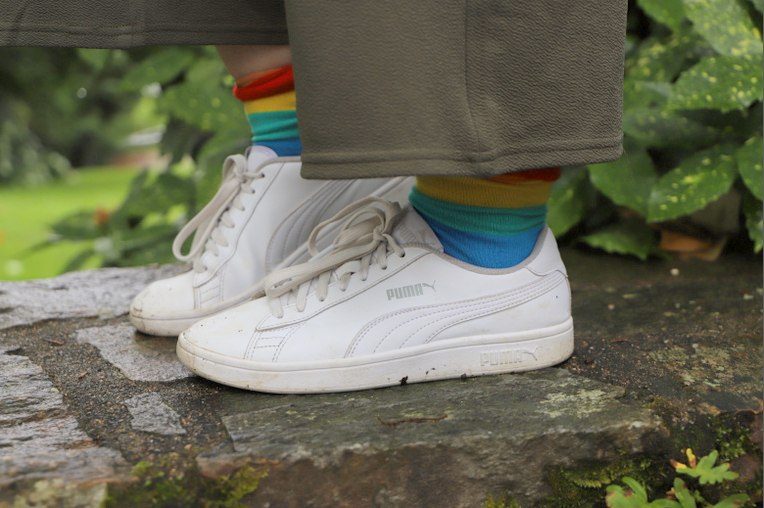 chaussettes multicolore flying tiger