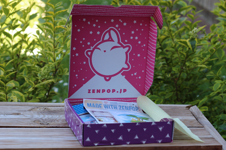 ZenPop box japon