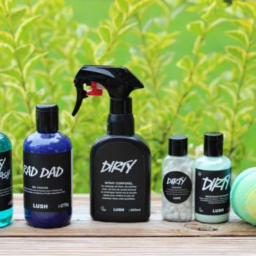 La collection Dirty – Lush