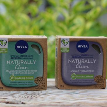 Test et avis de la gamme solide Nivea – Naturally Clean