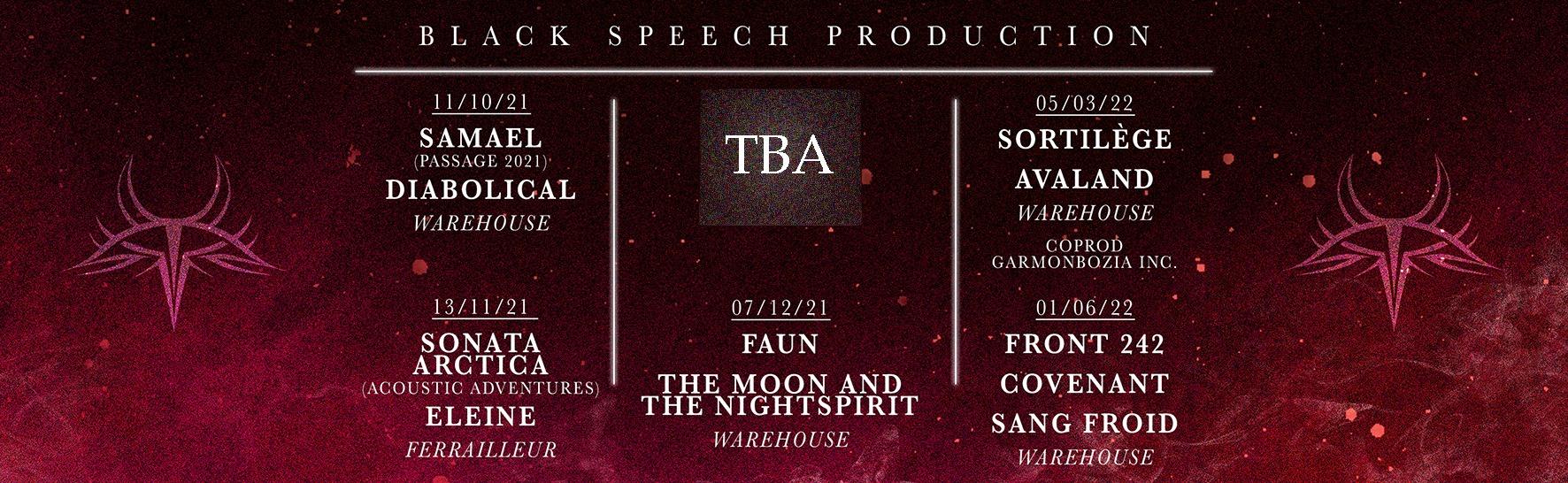 concerts black speech production