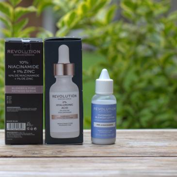 Test et avis des soins Revolution Skincare