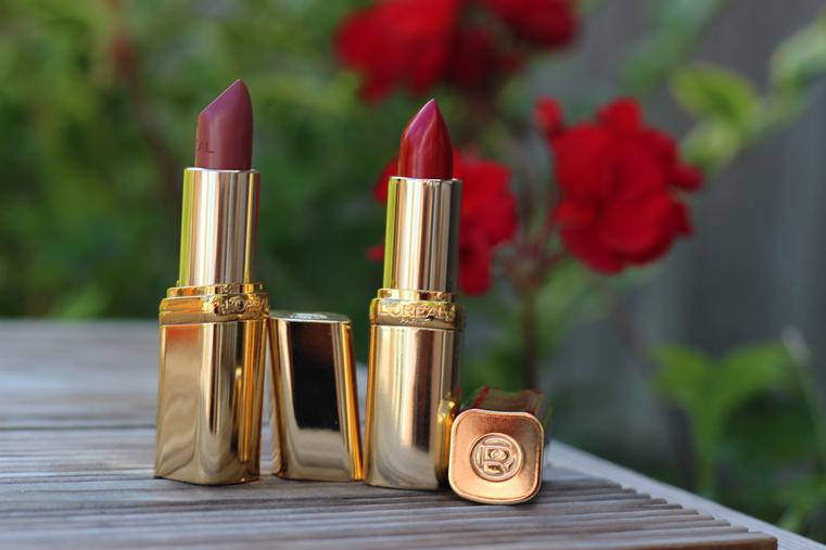 rouges à lèvres l'Oréal Worth it