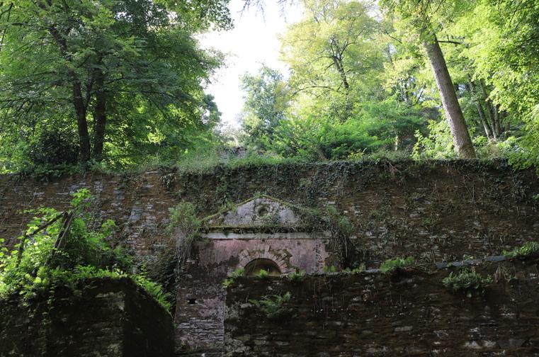 chapelle trompe l'oeil Folies Siffait