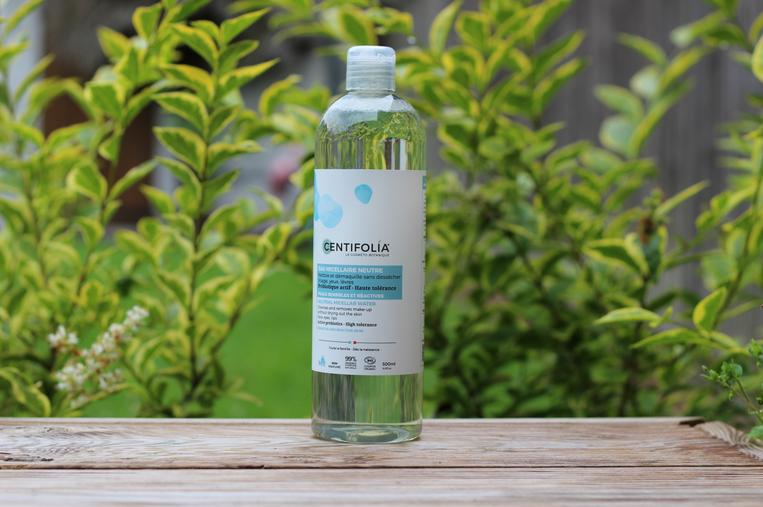 eau micellaire gamme neutre centifolia