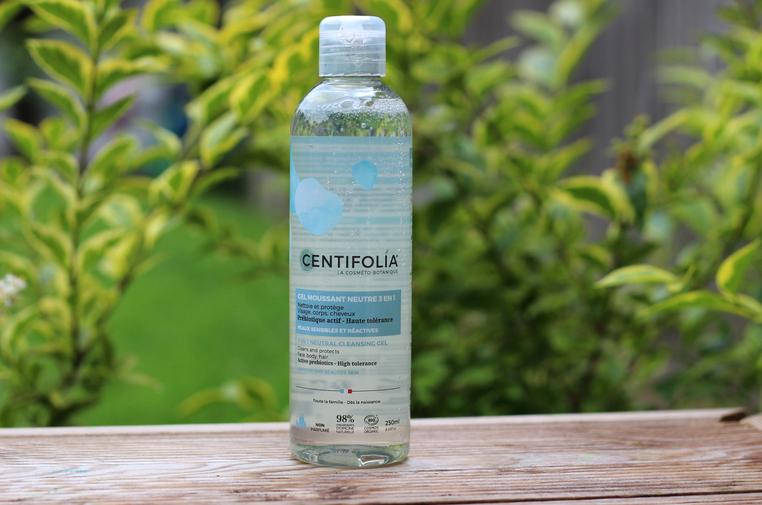 gel moussant gamme neutre Centifolia