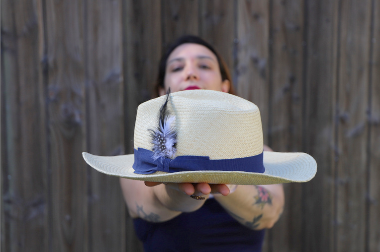 chapeau look beaux jours