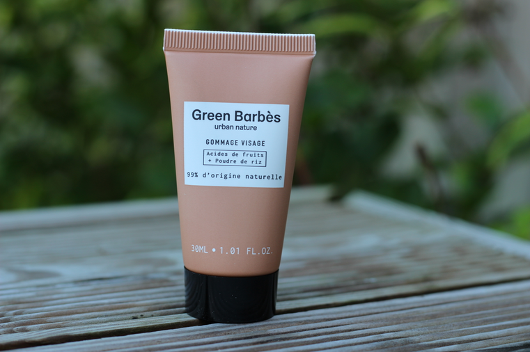 Gommage green barbes