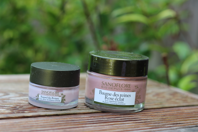 gamme produits roses Sanoflore